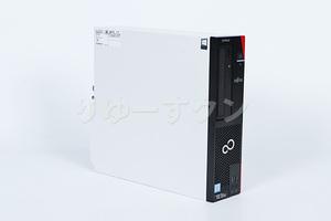 【中古デスクトップPC】インテル第8世代CPU搭載!富士通 ESPRIMO D588/T (i5-8500/8GB/500GB) 未使用HDD換装【クリーニング・動作確認済】
