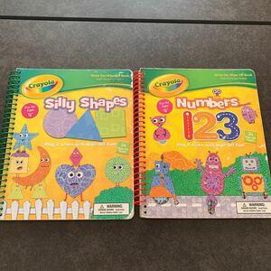 英語絵本 crayola 2冊セット sillyshapes・numbers 英語絵本 英語教材 BOOK