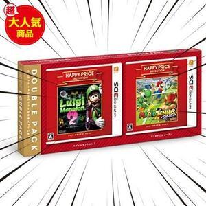 『ルイージマンション2 マリオテニス オープン』ダブルパック - 3DS