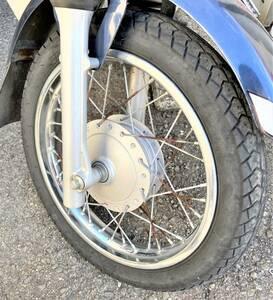 【JA10】ホンダ C110 プロ フロント タイヤ付きホイール ブレーキドラム/HONDA CUB PRO Wheels with front tires Brake drums I2110-43-01