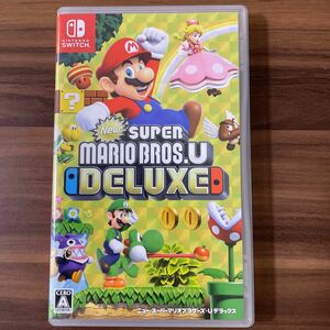 NewスーパーマリオブラザーズU デラックス Nintendo Switch 任天堂スイッチ