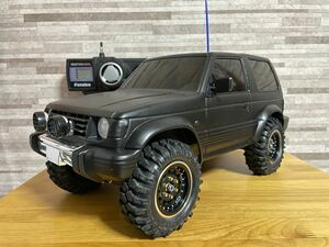 タミヤ 1/10 ラジコン 三菱 パジェロ メタルトップワイド オプション多数 パジェロ タミヤ CC-01 RC4WD