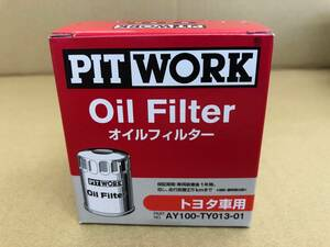 10 piece super-discount AY100TY01301 PITWORK brand Toyota car conform oil element QUO card .. Vitz Voxy Corolla other
