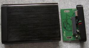 外付け HDD&SSD ケース 2.5インチ USB3.0ケーブル付き