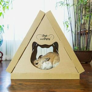 ネコ 爪とぎハウス 猫 簡単組立