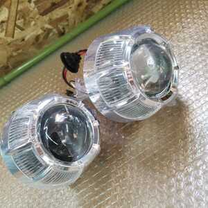 . included projector head light HID LED CCFL embedded original work embedded for