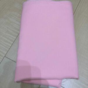 ピンク ポリエステルキャバ生地 96×154
