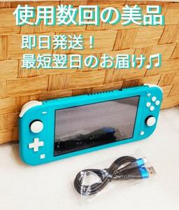 ほぼ未使用 ニンテンドースイッチライト ターコイズ Nintendo Switch Lite