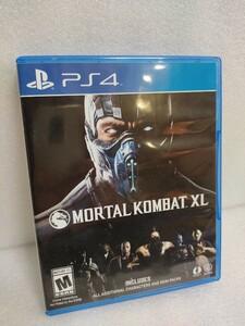 海外版PS4ソフト モータルコンバット XL  MORTAL KOMBAT XL