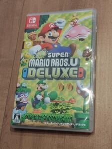 NewスーパーマリオブラザーズUデラックス  ニンテンドースイッチ Nintendo Switchソフト
