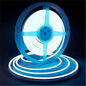 アイスブルー LEDテープライト iNextStation 高輝度 防水 LEDストリップ 調光可能 切断可能 LEDネオンライ