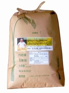 令和3年度産 新米佐渡産コシヒカリ(玄米)10kg 送料無料 篩の網目はL=1.90