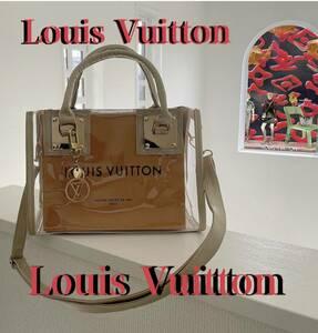 ★☆★☆Louis Vuitton★☆★☆ルイヴィトン VUITTONショップ袋 ショッパー 新品クリアバッグゴールド   Louis Vuitton★☆★☆★