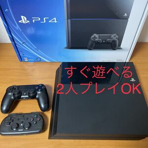 【PS4】PlayStation4 本体 CUH-1000A 500GB DualShock4 HORIコントローラー セット