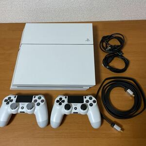 【PS4】PlayStation4 本体 CUH-1200A 500GB 純正コントローラー DualShock4 2個セット