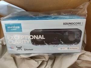 Anker Soundcore 3 / 未開封 新品 Soundcore3 モバイルスピーカー Sound core 3