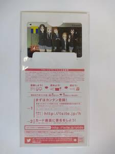 けいおん!10th デザイン Tカード / 新品 未署名