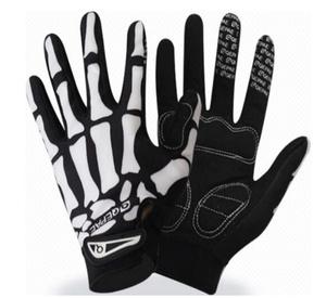 S-323 【サイズ:M、L、XL】スカルデザイン サイクリング ノンスリップ シリコーン ゲル マウンテンバイク スポーツ手袋