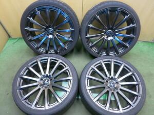 Bridgestone! 9 минут  *  Lexus  RX  Оригинал  TRD  Ковка  255/35R22  Yokohama  PARADA Spec-X  ...   22 дюйма  PCD114.3/5H *