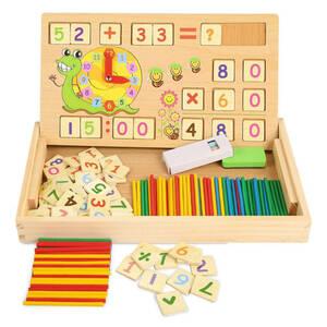 知育玩具 積み木 おもちゃ モンテッソーリ 計算 黒板 お絵かき