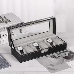 腕時計 6本収納 小物収納 ボックス 男女兼用 ホコリ 傷防止 アクセサリー
