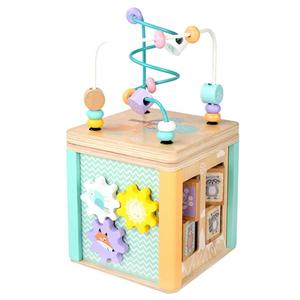 ビーズコースター ルーピング 立体パズル おもちゃ 積み木 木製 知育