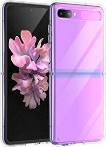 クリア Galaxy Z Flip Samsung Galaxy Z Flip ケースソフト 透明 TPU+PC 超薄型 軽量