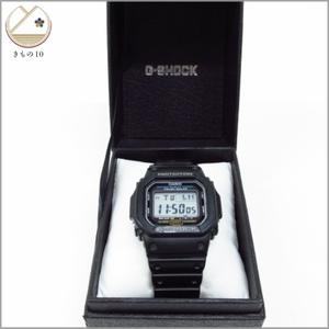 着物10 1円 CASIO カシオ G-SHOCK ジーショック タフソーラー 腕時計 デジタル 黒 メンズ G-5600E 稼働品 ブランド品 [同梱可] ☆☆☆☆