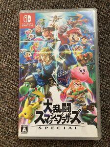 大乱闘スマッシュブラザーズSPECIAL Nintendo Switch ニンテンドースイッチ スマブラ
