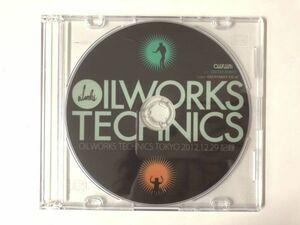 【稀少DVD-R】OILWORKS TECHNICS TOKYO 2012 / V.A (DJ KIYO 5LACK(S.L.A.C.K.) OLIVE OIL KAN SANO OMSB THE OTOGIBANASHI'S 他) tm