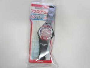 ☆ CYBEAT 腕時計 WATER RESISTANT 時計 ブラック レッド 黒 赤 未使用 爆安 1円スタート ☆