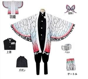 鬼滅の刃 胡蝶しのぶ140 コスプレ衣装 ハロウィン
