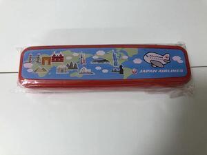 送料無料 JAL 国内線 子供用 フォーク スプーン セット カトラリー ノベルティ 日本航空 プレゼント 飛行機 お弁当 限定