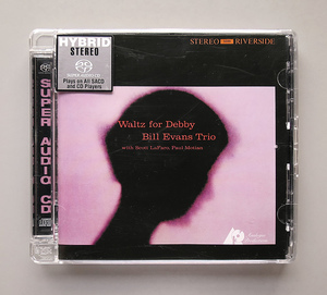 (Hybrid SACD) Bill Evans 『+4 Waltz for Debby』 輸入盤 ビル・エヴァンス ワルツ・フォー・デビイ CAPJ 9399 SA Analogue Productions