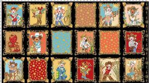 ロラライハリス生地 Whoa Girl! Fabric Panel