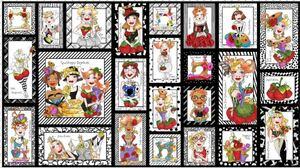 ロラライハリス生地 Sew Curious Fabric Panel