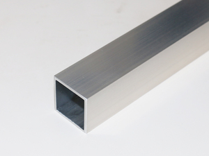 アルミ 角パイプ A6063 生地 肉厚2.0×40×40 長さ390mm 1本