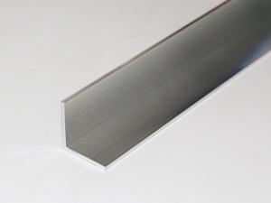 アルミ アングル A6063 生地 肉厚2.0 20×20 長さ264mm 1本