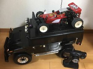ハマー フタバメカ&タミヤブラックモーターエンデュランス搭載(ホットショットは付きません大きさ比較用です)