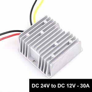 30A 360W トラック大型車 dcdc コンバータ DC 24V → 12V 30A 360W直流電圧 変換器 変圧器 トラ