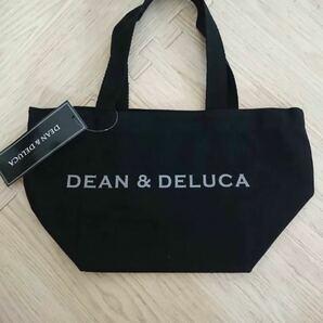DEAN&DELUCA ミニトート ハンドバッグ Sサイズ ロゴ ブラック