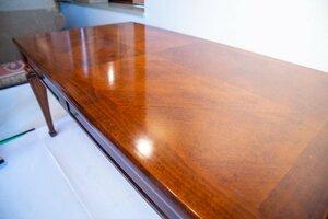 アンティーク 重厚 ダイニングテーブル