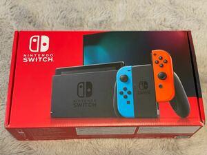 【ほぼ新品】Nintendo Switch ニンテンドースイッチ本体 ネオンレッド ネオンブルー