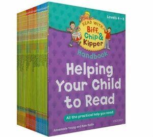 1セット25冊 オックスフォード Oxford ReadingTree 子供用 英語 絵本 リーディング レベル4-6 Biff,Chip&Kipper