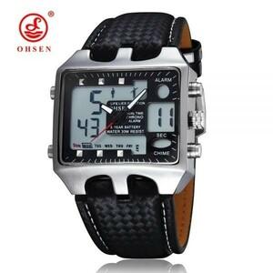 !真っ当価格!送料ゼロ☆ デジタル腕時計 多機能 スポーツ防水腕時計 4種類