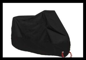 ★送料無料★ オートバイカバー 防水 バイクカバー 耐熱 黒 2XL 062