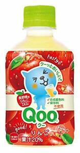 コカ・コーラ ミニッツメイド Qoo クー わくわくアップル ペットボトル 280ml×24本