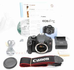 【超美品・メーカー保証書等完備】Canon キヤノン EOS Kiss X5