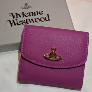 ヴィヴィアンウエストウッド 二つ折り財布 ピンク