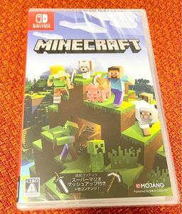 Minecraft Nintendo Switch版 パッケージ版新品シュリンク未開封 マインクラフト シュリンク付き